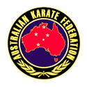 Logo of the Australian Karate Federation. Visit the site